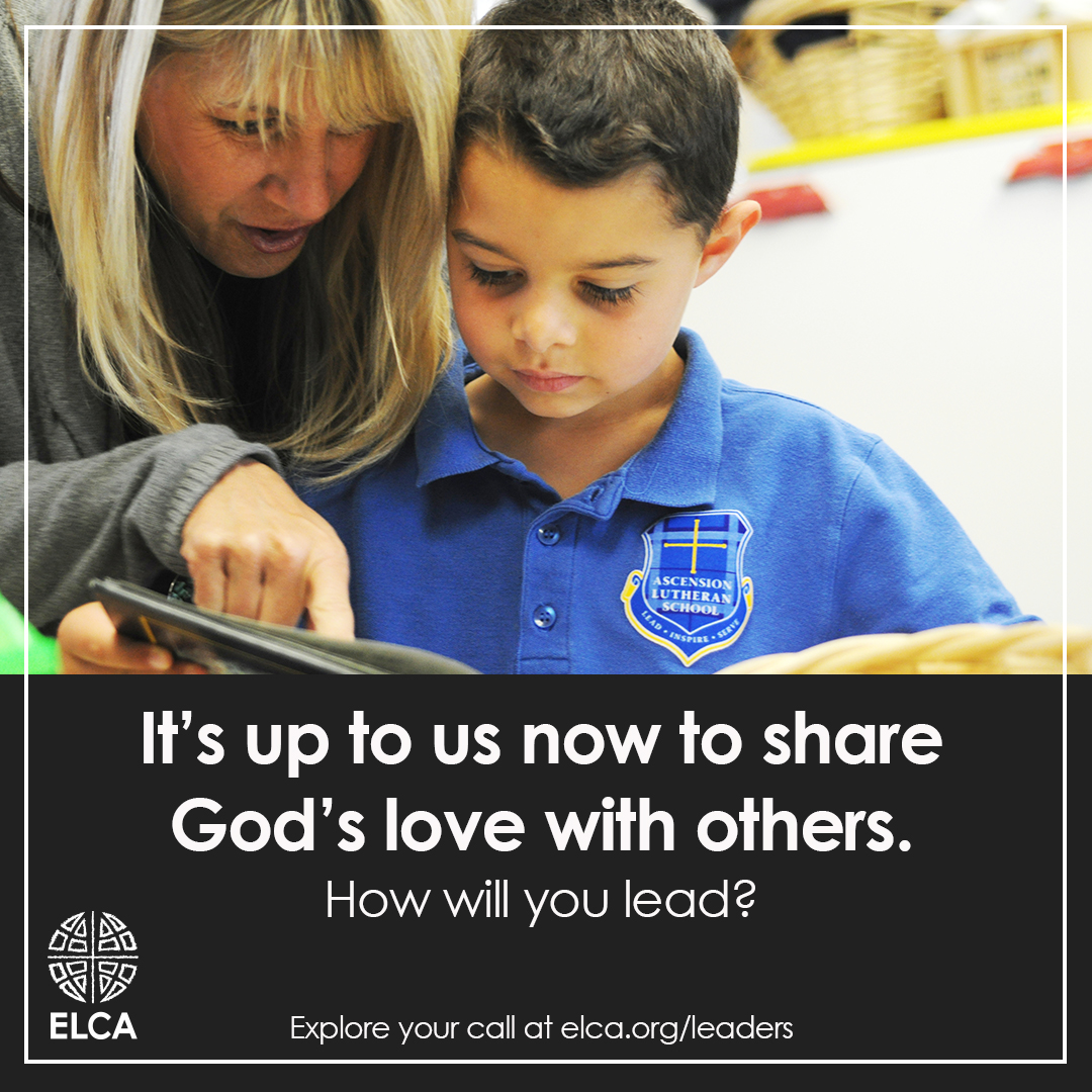 It's up to us now to share God's love with others