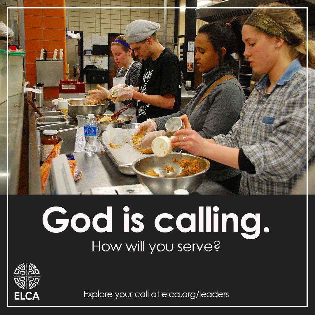 God is calling.