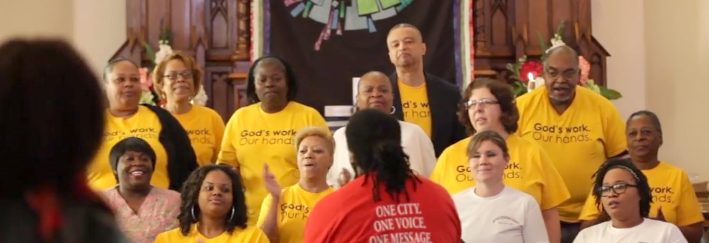 God's work. Our hands. Sunday Hymn Contest