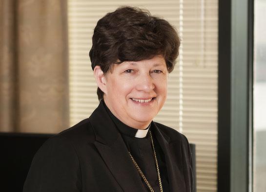 ELCA Presiding Bishop Elizabeth A. Eaton