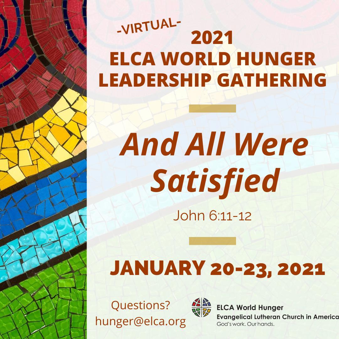 ELCA World Hunger Leadership Gathering