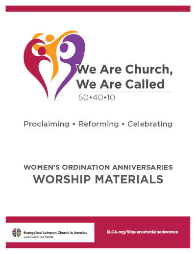 50 Years of Ordained Women - Worship Resources